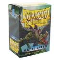 Fundas Dragon Shield - Verde Mate (100 uds)