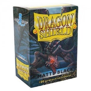 Fundas Dragon Shield - Negro Mate (100 uds)