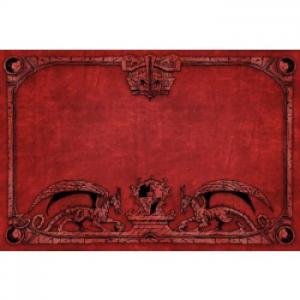Tapete Dragon Shield - Rojo