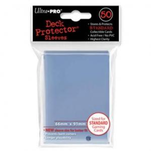 Funda Transparente tamaño Estandar 66 x 91 mm (50 fundas) - Ultra Pro