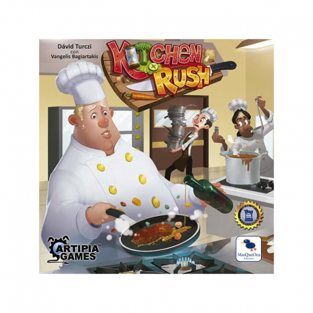 Kitchen Rush - Castellano