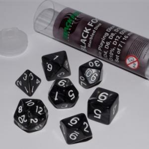 Comprar Set dados Rol - Niebla Negra (7 dados) - Blackfire Dice