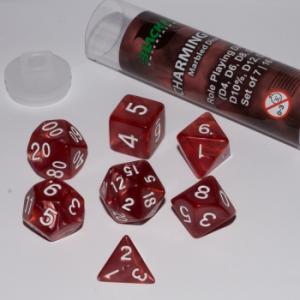 Comprar Set dados Rol - Rojo Encantado (7 dados) - Blackfire Dice