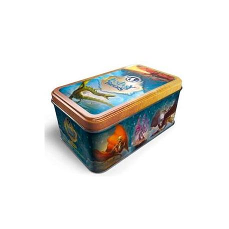 Caja sobre cartas fantasy riders