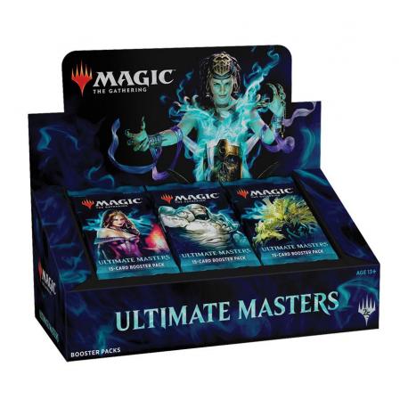 Comprar Caja de sobres de Ultimate Masters Booster Box con Topper Box incluido