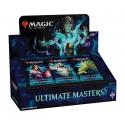 Caja de sobres de Ultimate Masters Booster Box con Topper Box incluido