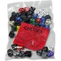 Bolsa de 50 dados variados Opaque Polyhedral D10 Tens (decenas) Chessex 29411