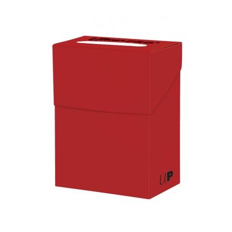 Caja de mazo para cartas Solid Ultra Pro - Roja