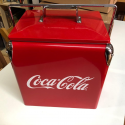 Nevera Metálica Portatil Vintage Coca-Cola - Original - Nueva