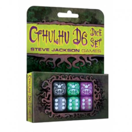 Set de Dados Cthulhu D6