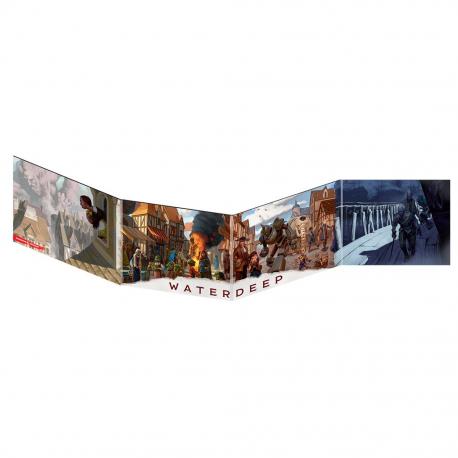 Dungeons & Dragons 5ª Edición - Pantalla de DM Waterdeep: El Golpe de los Dragones