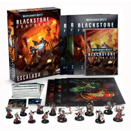 Blackstone Fortress: Escalation - Castellano