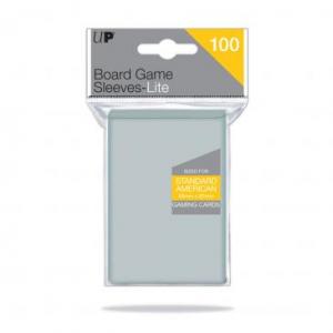 Funda Transparente tamaño americano estandar 56mm x 87mm (100 fundas) - Ultra Pro Lite