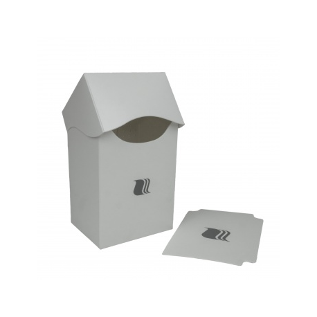 Blackfire Caja para Mazos - 80+ cartas - Blanca
