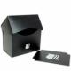 Blackfire Caja para Mazos - 80+ cartas - Negra