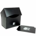 Blackfire Caja para Mazos Horizontal - 80+ cartas - Negra
