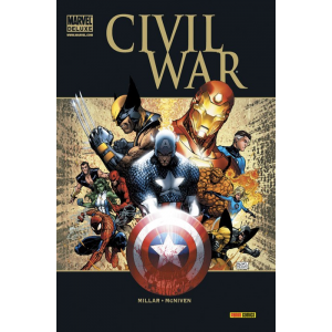 Marvel Deluxe: Civil War (Cartoné)