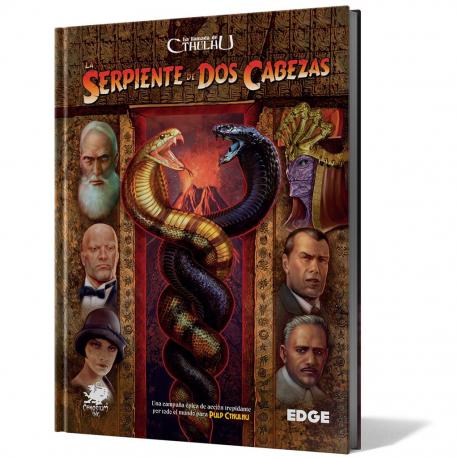 La Llamada de Cthulhu 7ª Edición - La serpiente de dos cabezas