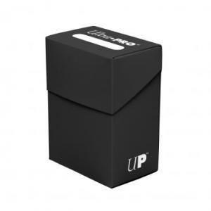 Caja de mazo para cartas Solid Ultra Pro - Negra