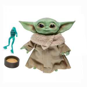 Star Wars The Mandalorian Peluche parlante The Child Baby Yoda 19 cm