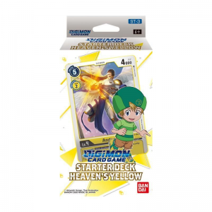 Digimon Card Game: Starter Deck Heaven's Yellow ST-3 – (Ingles)