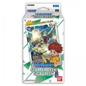 Digimon Card Game: Starter Deck Giga Green ST-4 – (Ingles)