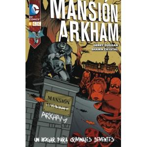 Mansión Arkham: Hogar para criminales dementes