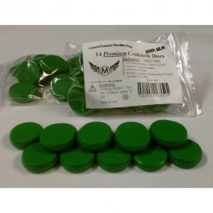 Set de 14 discos crokinole - color verde