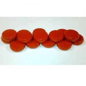 Set de 14 discos crokinole - color rojo
