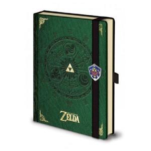 Legend of Zelda Libreta A5 Triforce