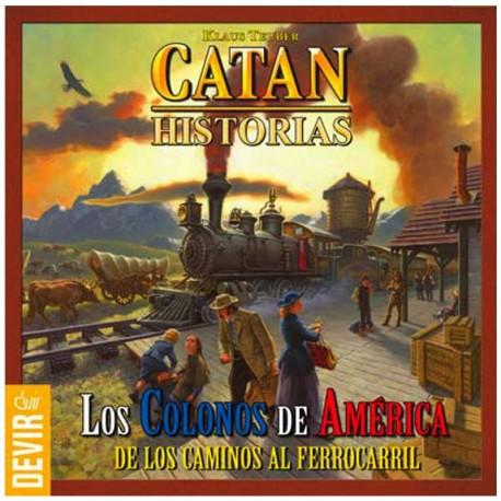 Catán Historias: Colonos de América