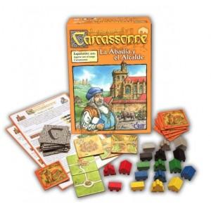 Carcassonne - La abadía y el alcalde