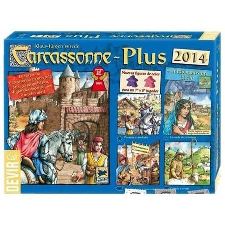 Carcassonne Plus 2014