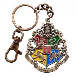Harry Potter - Llavero metálico Hogwarts 5 cm