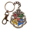 Llavero metálico Hogwarts 5 cm - Harry Potter