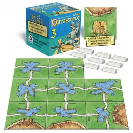 Carcassonne Mini Expansiones. 3 - Los transbordadores