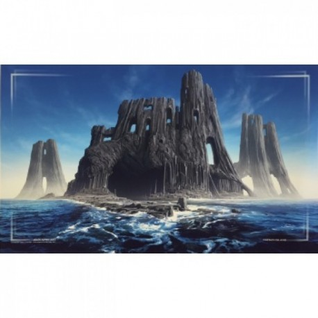 John Avon Art - Tapete Farway Island