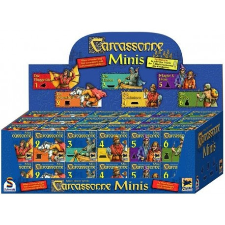 Pack Carcassonne Mini Expansiones