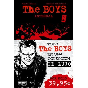 THE BOYS INTEGRAL VOLUMEN 1