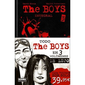 THE BOYS Integral Volumen 3 - Cartoné