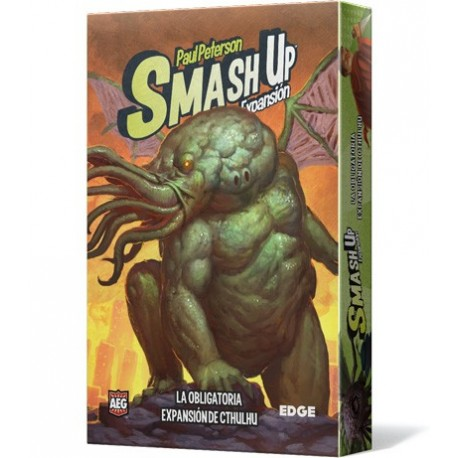 Smash Up - La obligatoria expansión de Cthulhu