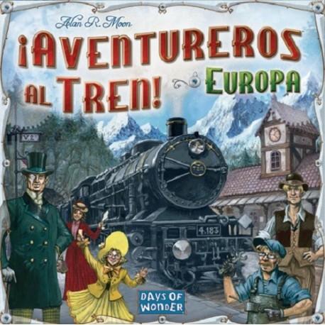 AVENTUREROS AL TREN - EUROPA - JUEGO DE TABLERO
