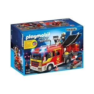 Camión de Bomberos con Luces y Sonido - 5363 - Playmobil