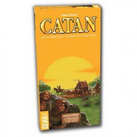 Mercaderes y Barbaros de Catan Expansion para 5-6 Jugadores