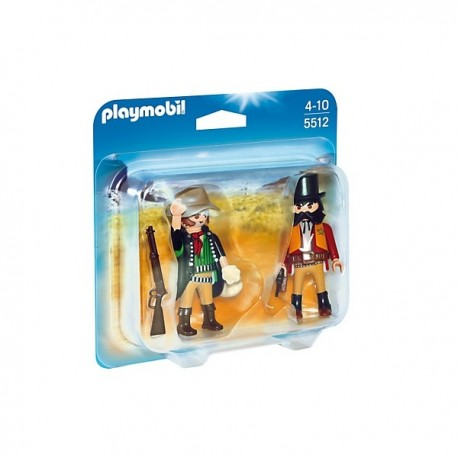 Duo Pack Sheriff y Bandido - 5512 - Playmobil