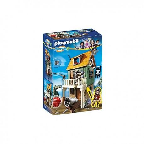 Fuerte Pirata camuflado con Ruby - 4796 - Playmobil