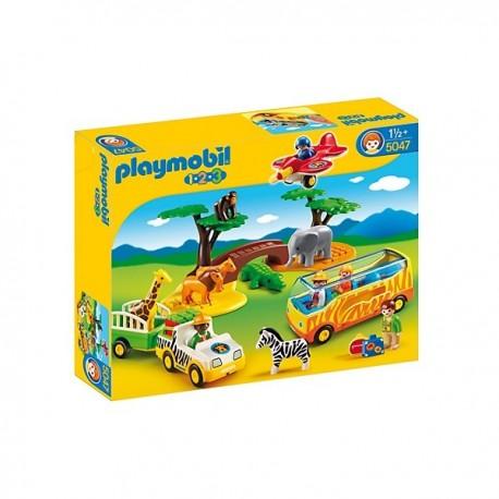 1.2.3 Gran Safari Africano - 5047- Playmobil