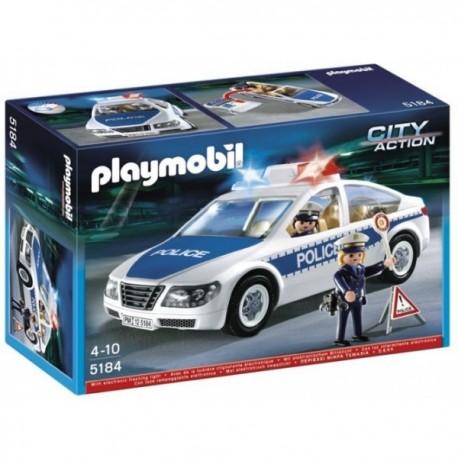 Coche de Policía con luces - 5184- Playmobil