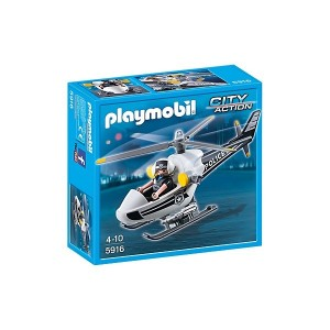Helicóptero de Policía - 5916 - Playmobil