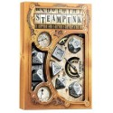 Set de Dados de Metal - Metal Steampunk Dice Set (7)